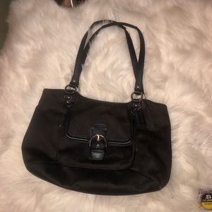 COACH CONVERTIBLE TOTE BAG